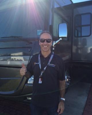 Joao Barbosa before the Rolex 24 Hours at Daytona